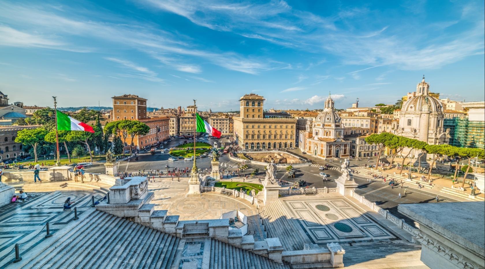 Cosa vedere a Roma - Piazza Venezia - Hotel Raffaello Roma 3 stelle